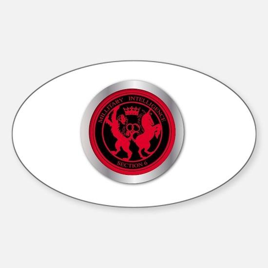 Unique Mi6 Sticker (Oval)