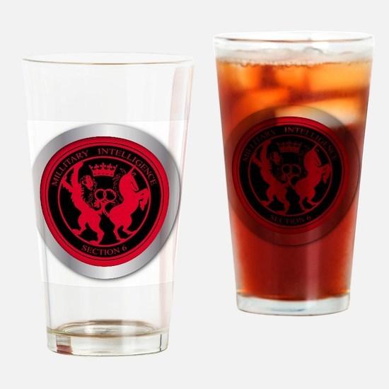 Funny Mi6 Drinking Glass