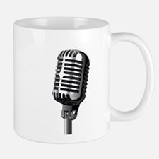 Isolated Stage Mic Mugs