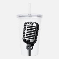 Isolated Stage Mic Acrylic Double-wall Tumbler
