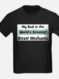 Worlds Greatest Diesel Mechan T-Shirt