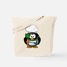 Veggie Penguin Tote Bag