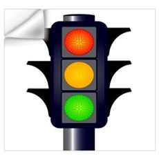 Traffic Light Wall Decals Traffic Light Wall Stickers & Wall Peels