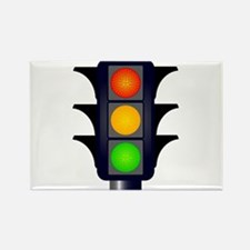 Hooded Traffic Lights Magnets