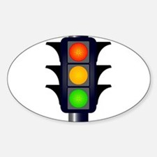 Hooded Traffic Lights Decal