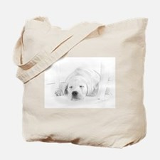 Lab Pup-Nap Tote Bag