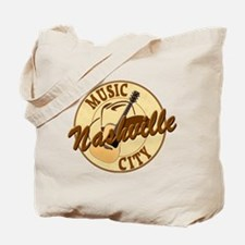 Nashville Music City-LT-8 Tote Bag
