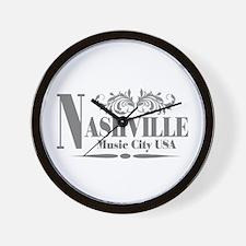 Vintage Nashville-01 Wall Clock