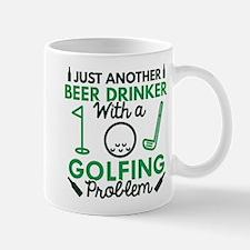 Beer Drinker Golfing Mug