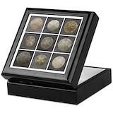 Sand dollar Square Keepsake Boxes