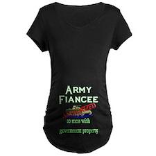 Army Fiancee Authorized T-Shirt