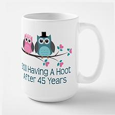 45th Anniversay Owls Mugs