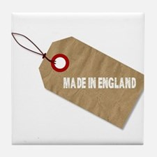 Made In England Tag Tile Coaster