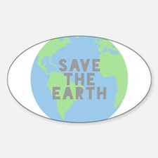 Save The Earth Decal