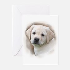 Lab Pup Color Greeting Cards (Pk of 10)