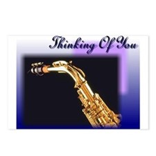 Thinking of you sax 1 Postcards (Package of 8)