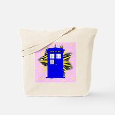 Funny Phone box Tote Bag