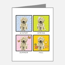 4 Seasons Doodle Note Cards (Pk of 20)