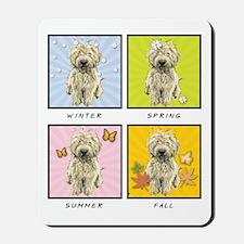 4 Seasons Doodle Mousepad