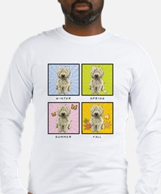 4 Seasons Doodle Long Sleeve T-Shirt