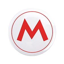 """Mario M Button (3.5"""")"""