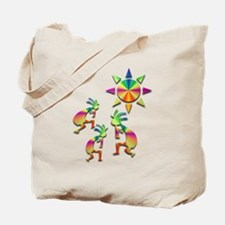 Three Kokopelli #44 Tote Bag