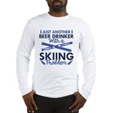 Skiing Long Sleeve T-shirts