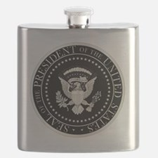 Unique Presidential seal Flask