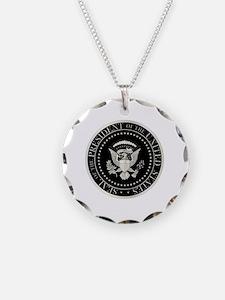 Unique Presidential seal Necklace