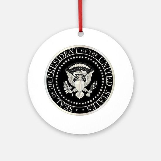 Unique Presidential seal Round Ornament