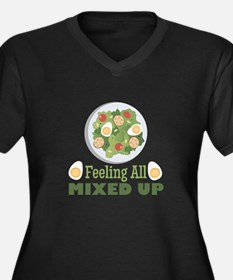 Mixed Up Plus Size T-Shirt
