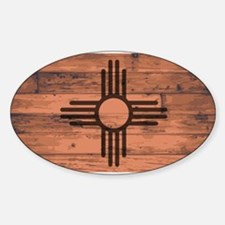 New Mexico State Flag Brand Decal