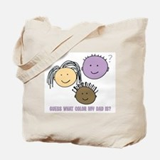Purple Dad Tote Bag