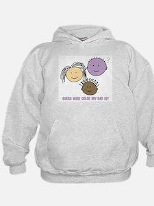 Purple Dad Hoodie
