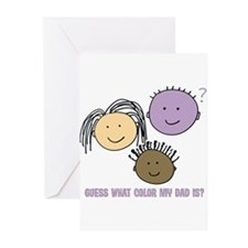 Purple Dad Greeting Cards (Pk of 20)