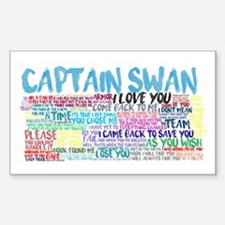 Captain Swan Quotes Decal