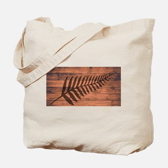 New Zealand Fern Brand Tote Bag