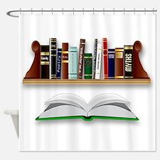 Books Shower Curtain