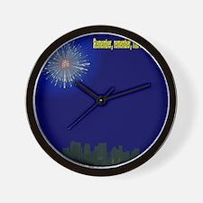 5th November City Wall Clock