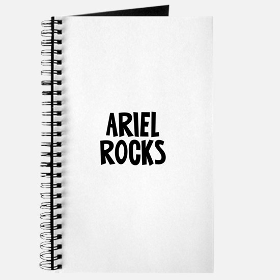 Ariel Rocks Journal