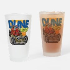 Dune Buggy Let's Go Play in the San Drinking Glass