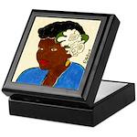 Woman with Gardenias in Her Hair Keepsake Box