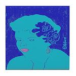 Blues Woman Tile Coaster