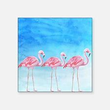 "Unique Animal texture Square Sticker 3"" x 3"""