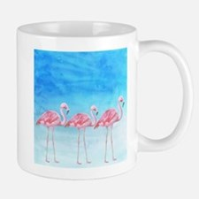 Flamingo lagune- watercolor artwork Mugs