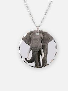 Realistic elephant design Necklace