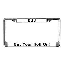 Brazilian Jiu-Jitsu License Plate Frame