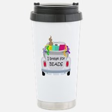 Cute Beading Travel Mug