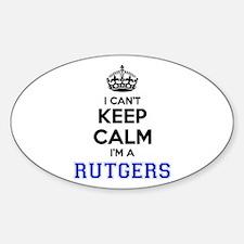I can't keep calm Im RUTGERS Decal
