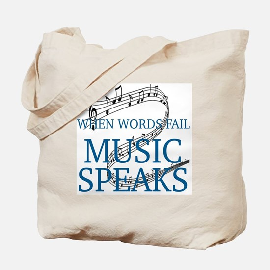 Cute Music Tote Bag